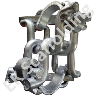 Holland Drop Forged Scaffolding Coupler Tetap Ganda