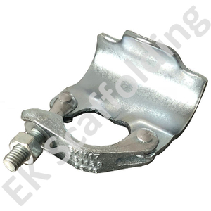 Inggris Single Clamp Drop Forged Scaffolding Putlog Coupler